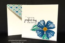 Simple Saturday Cards / To see simple cards that I create every Saturday using Stampin' Up! products, visit my blog www.simplestampin.com Susan Itell, Independent Stampin' Up! Demonstrator