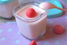 # Idées yaourts maison # / Des recettes glanées par ci par là pour faire plaisir à nos petits comme à nos grands.