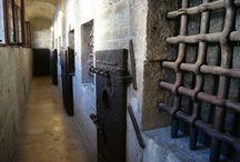 Il Piombi / The Venetian prison from which Giacomo Casanova made his memorable escape before fleeing to Paris.