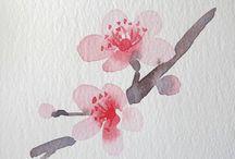 ακουαρελ.λουλουδια