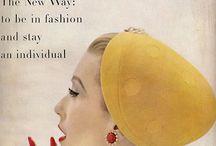 Portadas y publicidad Vintage - Covers & Vintage Ads / Publicidades Vintage y portadas de revistas de moda emblemáticas.
