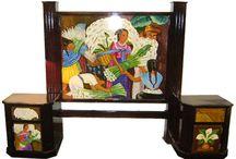 Magia y Mueble: Recámaras / Una gran variedad de colores reflejar la belleza con un toque mágico a través de formas, colores y texturas que hacen sentir la esencia de México. Nuestros productos representan la pasión y dedicación que empeñamos a nuestro trabajo.