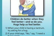 Positive parenting tip - Hugs