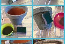 Structure paint / Made @ Home Structure paint is een complete lijn die je kunt gebruiken om een willekeurig object om te toveren naar een nostalgisch betonnen object. Verkrijgbaar in 4 kleuren: Beige Grey Taupe En Pink Complete set bevat  500 ml Structure  200 ml Finish 20 gr stone 20 gr White Powder Kwast Spons