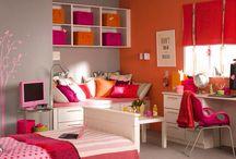 Color Naranja Habitaciones de niños
