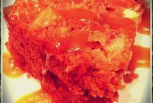 Desserts / Laurel's cake with caramel sauce