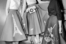 Inspirational skirts / I love skirts!  Inspiration for shapes, especially circular.