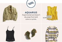 fashion / zodiac sign