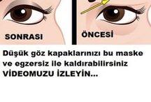 göz kapakları