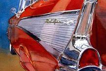 Watercolor ART / Fantastic watercolor paintings of various subject matter