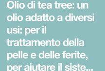 Usi olio tea tree