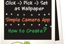 Android - Camera / Create simple camera applications in Android by following this board.