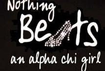 Alpha Chi Omega / by Brittiny Lenz