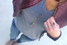 Plum leather jacket