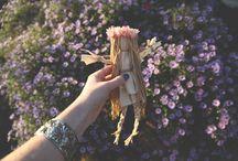 Corn husk dolls / by Cindy Gatlin