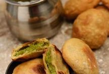 Baked Indian snacks