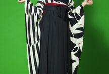 卒業式☆着物 / 娘の卒業式のために、おしゃれな着物と袴を参考にしたいな〜