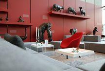event interior / We create temporary event interiors by using selected design pieces of our stock.  eventdesign, eventinterior made by kaluza+schmid  www.kaluza-schmid.de