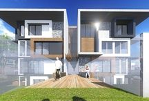 Wheelers Hill Apartments & Townhouses Development / Modern Townhouses and Apartments