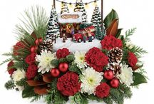 Christmas Flowers - 2017 / Our holiday arrangements are fun, festive and sometimes a bit whimsical.  We hope you enjoy!