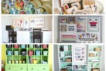 craft/sewing room ideas