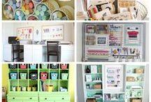 craft/sewing room ideas