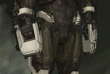 SciFi Armor
