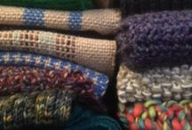 """The Wrap Up! Project / We are a group of knitters, crocheters, sewers, weavers, and crafters who make and donate handmade items to be distributed """"scarf bombed"""" around Lancaster City, PA.  Visit us online at https://wrapuplancaster.org!"""