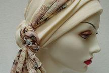головные уборы и шарфы