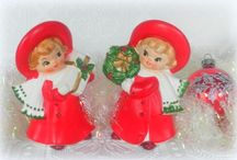 Vintage Retro Christmas / Vintage Christmas Decor and Decorating Inspiration for Creating A Vintage Inspired Christmas
