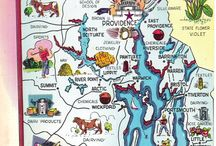 Rhode Island Maps and Grids