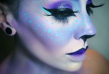 Fantasy makeup for class