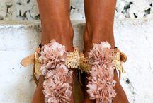 romantic sandals