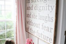 Girls Room Decor Ideas / by Ashley McGaha