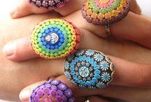 кольца глина