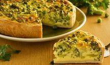 torta natural de brócolis