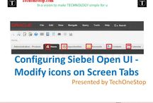 Siebel Open UI configuration