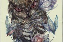 Marco Mazzoni, Illustrator, color pencils