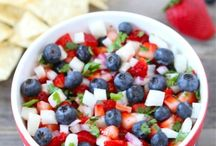 4th of July Healthy Patriotism / Here are some healthy, kid-friendly recipes and other ideas for Independence Day! Got ideas? Let us know!