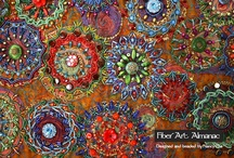 fiber art and embroidery