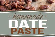 homemade date paste
