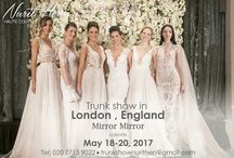 TRUNK SHOWS / let us come to you! check out our world Wide trunk show tour!