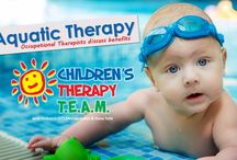 Pediatric Aquatic Therapy / Children's Therapy TEAM Aquatic Center in Northwest Arkansas offers water-based speech therapy, occupational therapy and physical therapy.