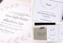 Rosemary Wedding Invitation