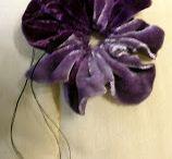 Λουλουδι από βελουδο