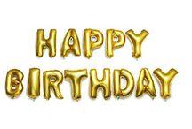 happy birthday шары 1