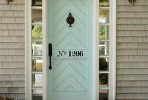 :: design | doors ::  / Front Doors + Interior Doors / by Naomi Rose Interiors