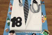 Grandson's 18th birthday cake