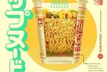Frutos do mar, Yakisoba, Ramen, Cup noodles ...