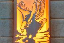 pvc lamp